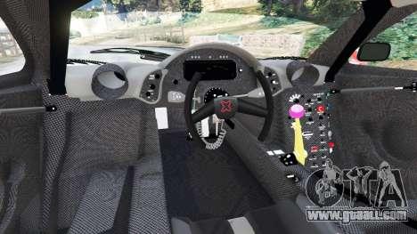 GTA 5 McLaren F1 GTR Longtail [Martini Racing] rear right side view