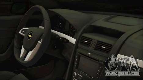 Chevrolet Lumina 2009 for GTA San Andreas right view