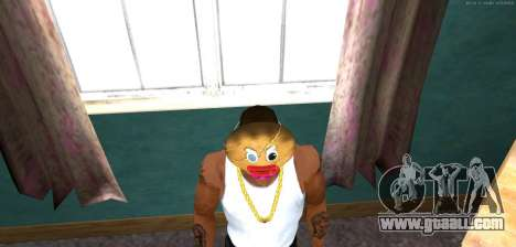 Mask Evil Prani v1 (Christmas 2016) for GTA San Andreas third screenshot