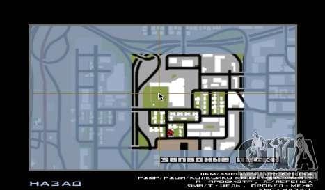 Baseball for GTA San Andreas forth screenshot