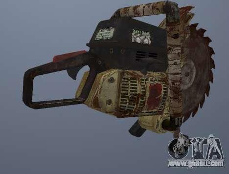 Manual Circular Saw for GTA San Andreas third screenshot