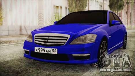 Mercedes-Benz S65 AMG for GTA San Andreas