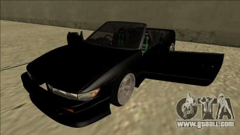 Nissan Silvia S13 for GTA San Andreas side view