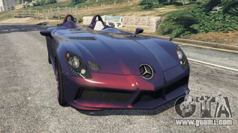 Mercedes-Benz SLR McLaren Stirling Moss for GTA 5