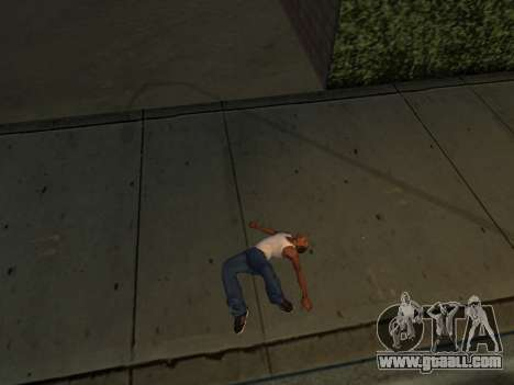 New animations for GTA San Andreas forth screenshot