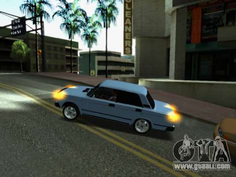 VAZ 2107-107 for GTA San Andreas interior
