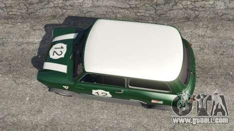 GTA 5 Mini Cooper S 1965 back view