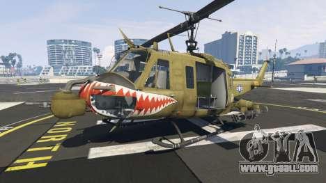 GTA 5 Bell UH-1D Iroquois Huey Gunship