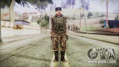World In Conflict Orlovsky Winter for GTA San Andreas second screenshot