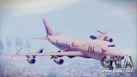 Boeing 747-300 Japan Airlines Resocha for GTA San Andreas