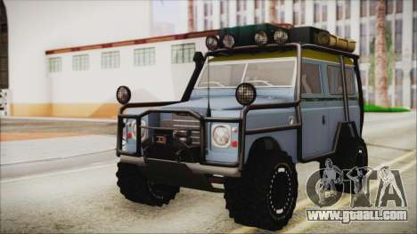 Land Rover Series 3 Off-Road for GTA San Andreas