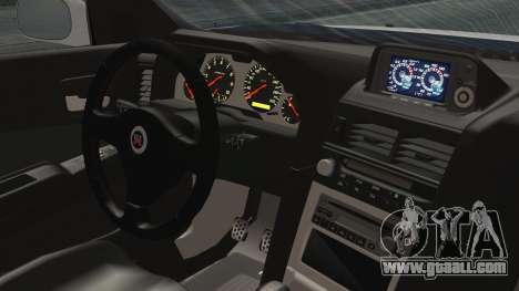Nissan Skyline GT-R M-Spec Nür 1999 for GTA San Andreas back left view