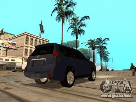 Toyota Land Cruiser Prado for GTA San Andreas right view
