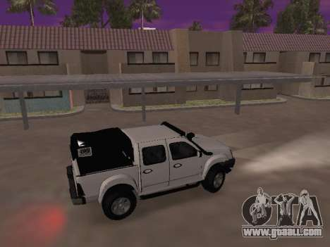 Chevrolet LUV D-MAX 2014 OffRoad (IVF) for GTA San Andreas back left view