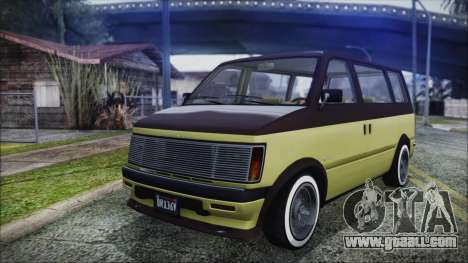 GTA 5 Declasse Moonbeam Custom for GTA San Andreas
