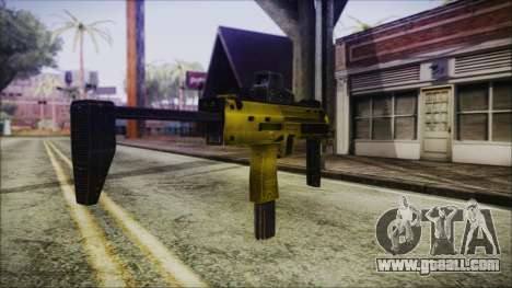 Point Blank MP7 Gold Special for GTA San Andreas second screenshot