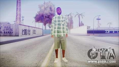GTA 5 Grove Gang Member 2 for GTA San Andreas second screenshot