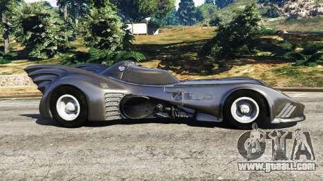 Batmobile 1989 [Beta] for GTA 5