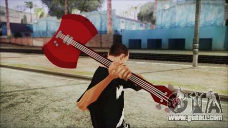 Axe Bass Marceline from Adventure Time for GTA San Andreas third screenshot