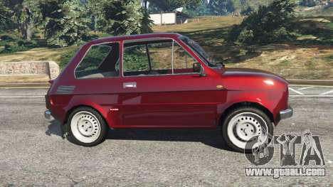 GTA 5 Fiat 126p v1.2 left side view