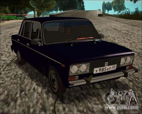 VAZ 2106 GVR for GTA San Andreas