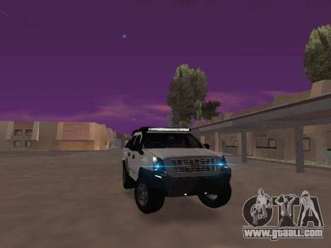 Chevrolet LUV D-MAX 2014 OffRoad (IVF) for GTA San Andreas back view