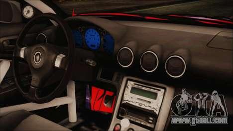 Nissan Silvia S15 Galaxy Drift v1.1 for GTA San Andreas right view