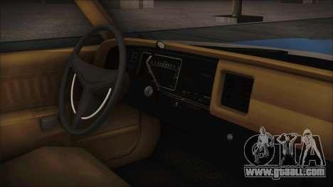 Dodge Monaco 1974 Civilian for GTA San Andreas back left view