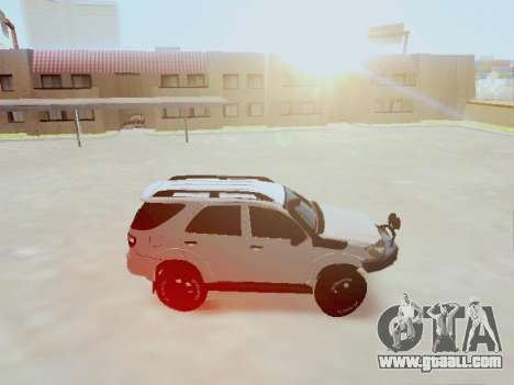 Toyota Fortuner 2012 TRD Off-Road for GTA San Andreas left view