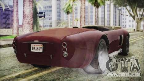 GTA 5 Declasse Mamba IVF for GTA San Andreas left view