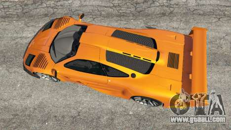 GTA 5 McLaren F1 GTR Longtail back view