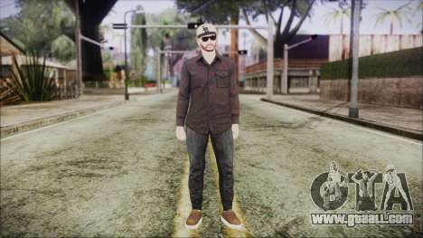 GTA Online Skin 40 for GTA San Andreas second screenshot