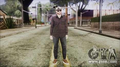 GTA Online Skin 40 for GTA San Andreas second screenshot