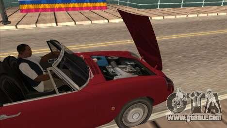 1966 Alfa Romeo Spider Duetto [IVF] for GTA San Andreas right view