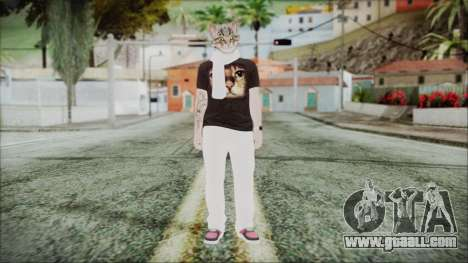 GTA Online Skin 35 for GTA San Andreas second screenshot