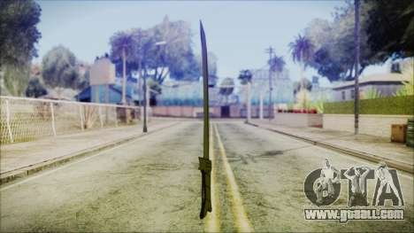 Grass Sword from Adventure Time for GTA San Andreas third screenshot