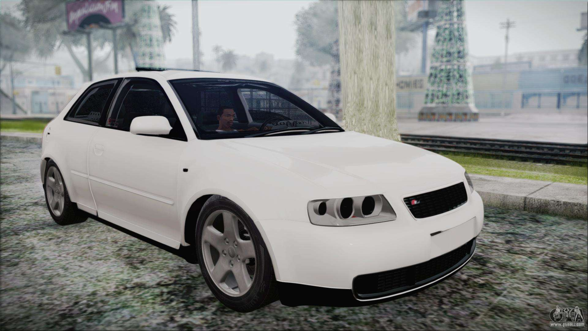 audi a3 1 8 s3 for gta san andreas. Black Bedroom Furniture Sets. Home Design Ideas