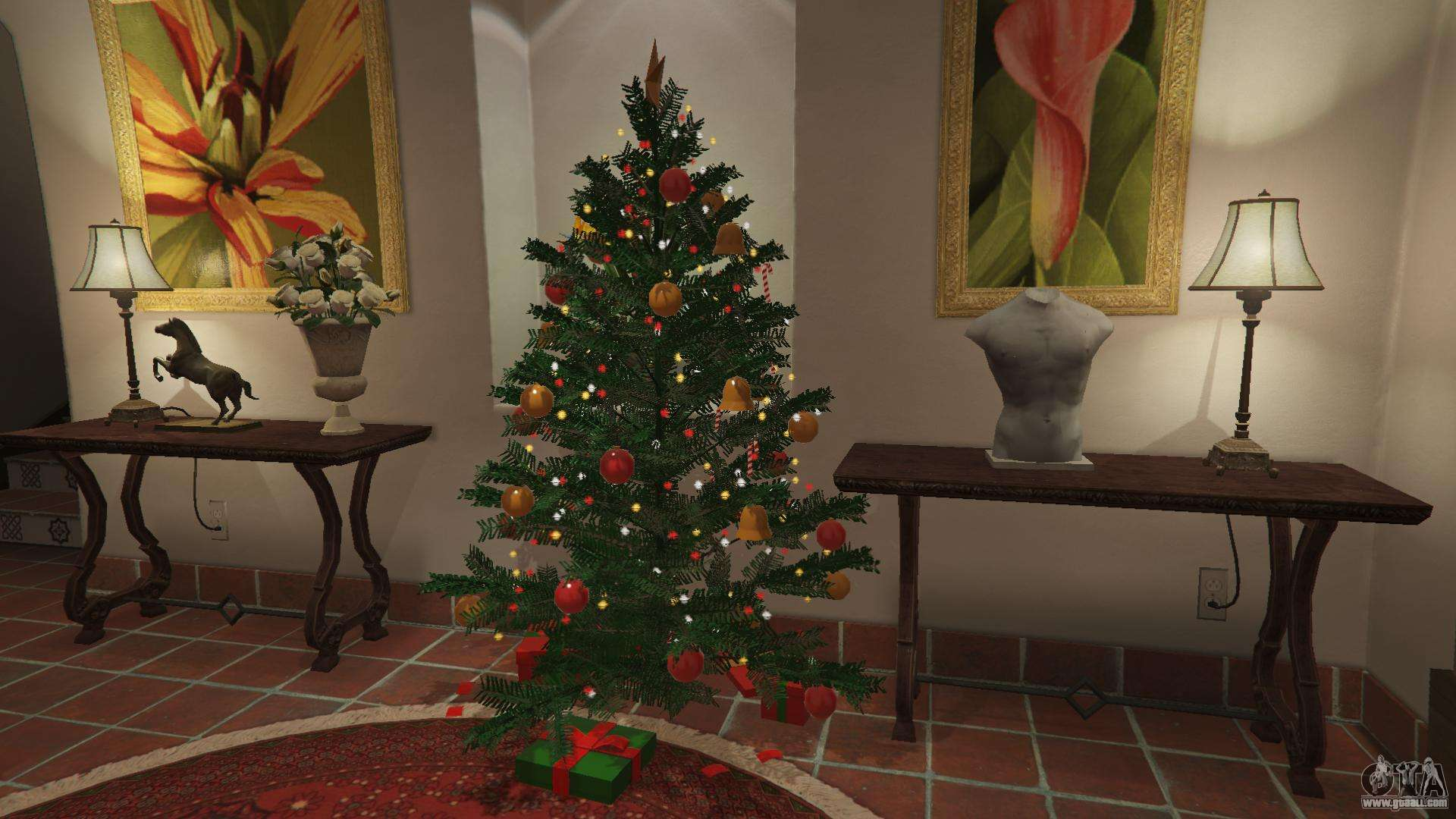 gta 5 christmas decorations for michaels house sixth screenshot