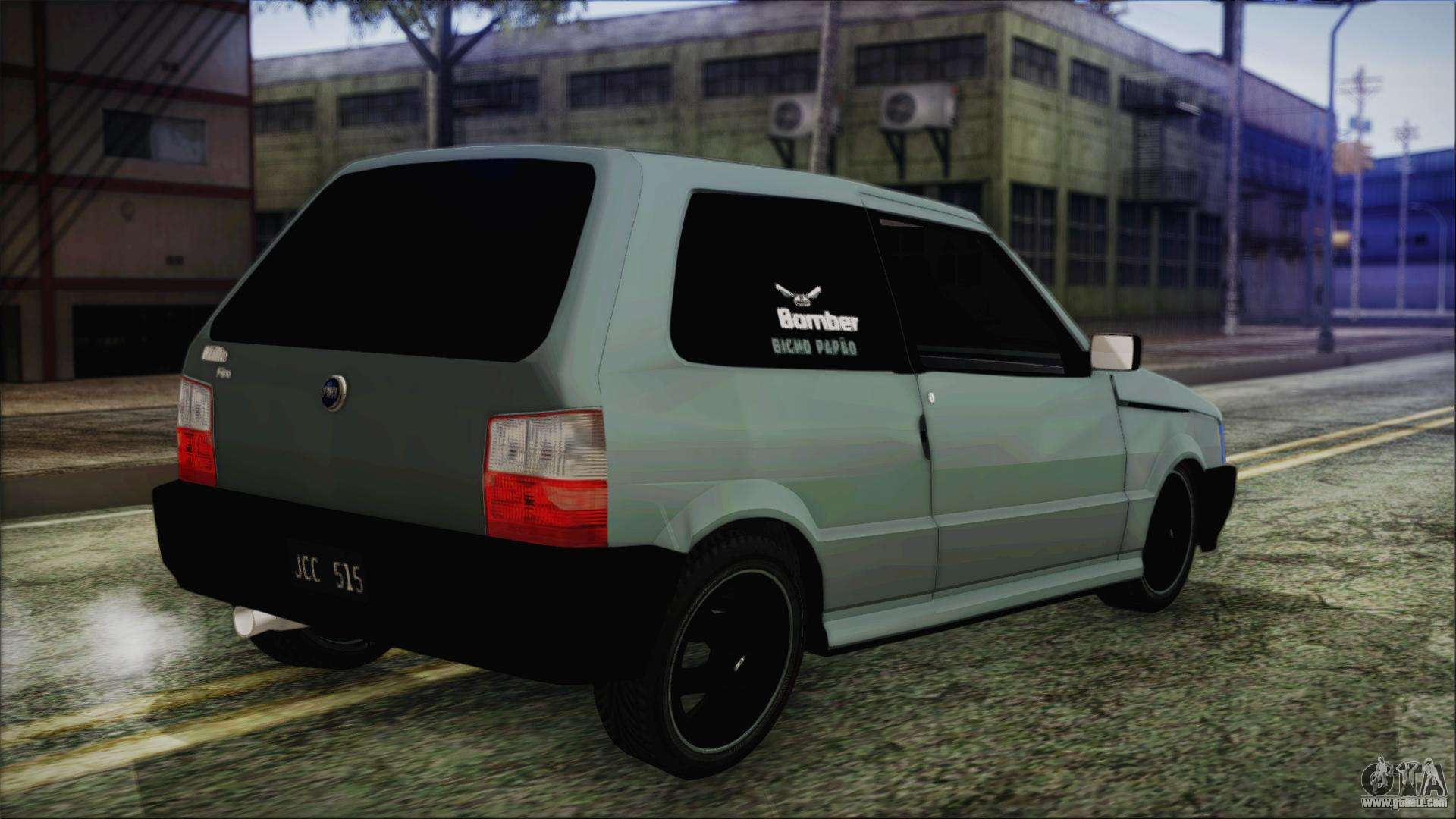 fiat uno fire tuning for gta san andreas. Black Bedroom Furniture Sets. Home Design Ideas