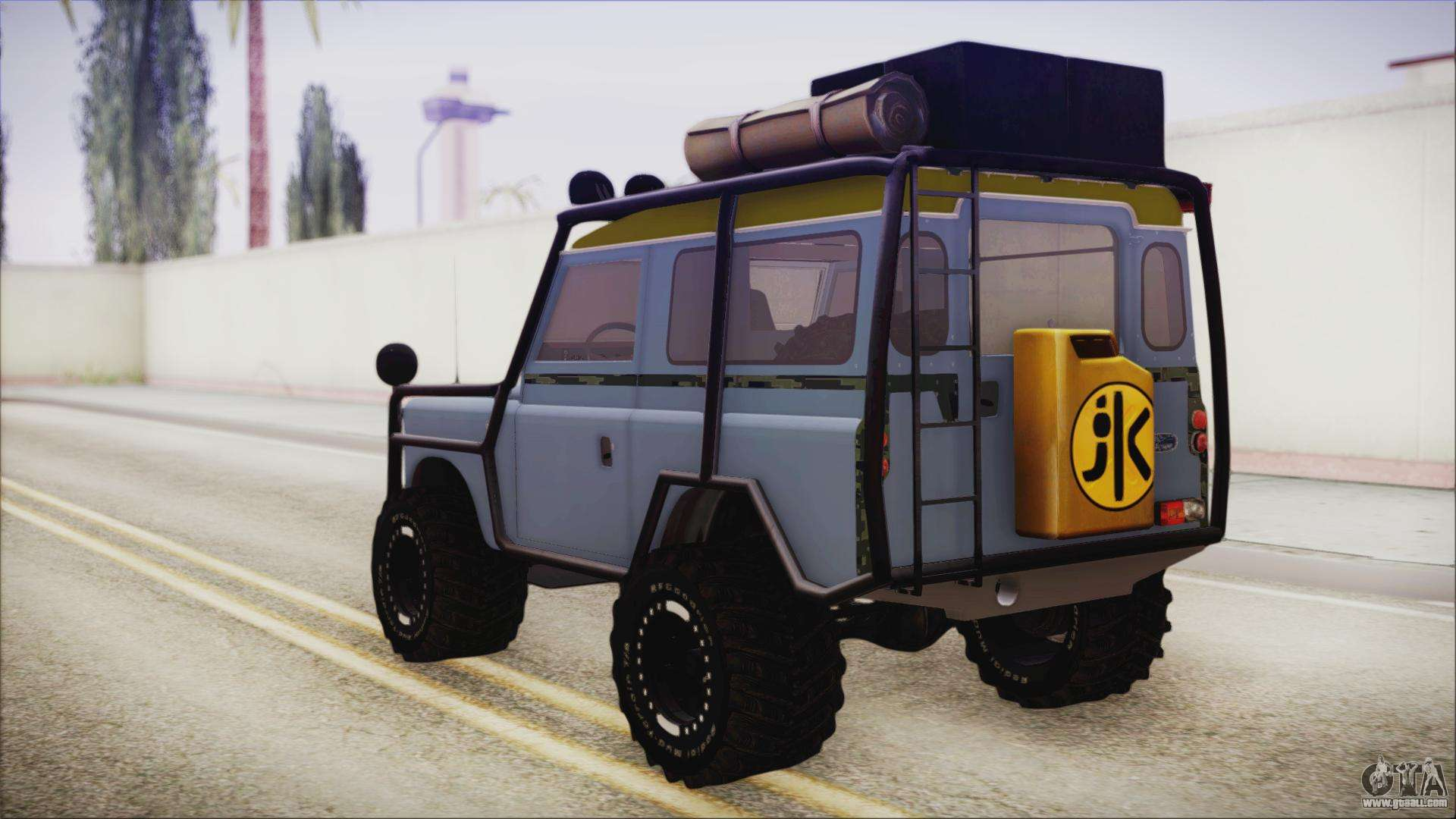 land rover series 3 off road for gta san andreas. Black Bedroom Furniture Sets. Home Design Ideas
