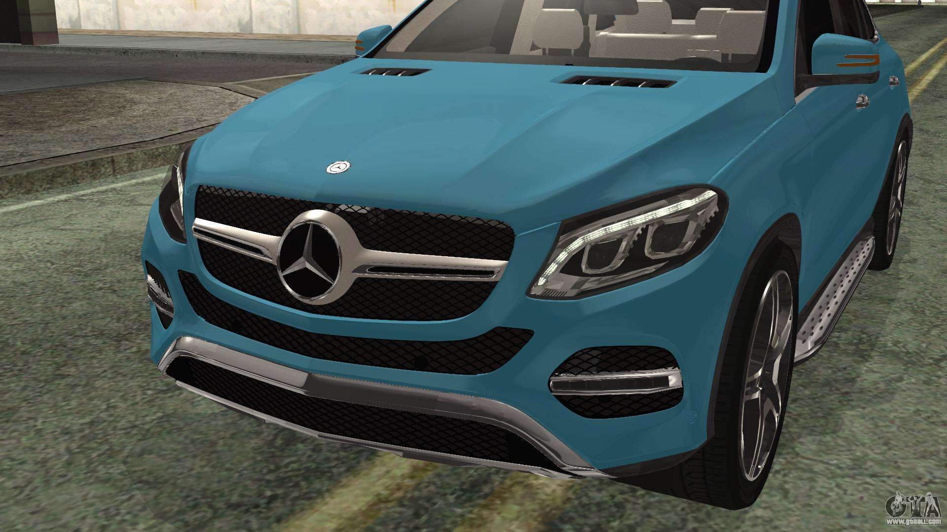 Mercedes benz gle 450 amg 2015 for gta san andreas for Mercedes benz gle 450