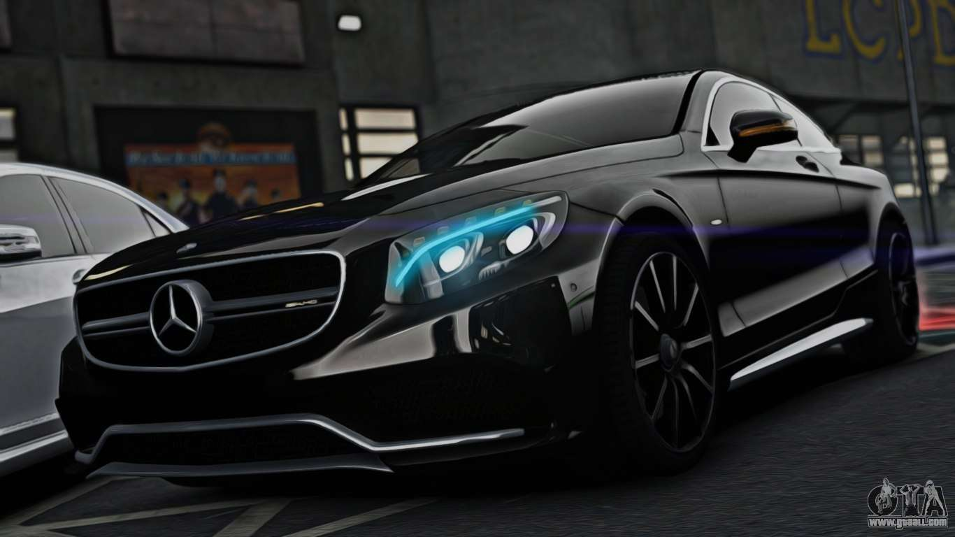 Mercedes benz s63 coupe amg 2015 for gta 4 for Mercedes benz s63 amg coupe