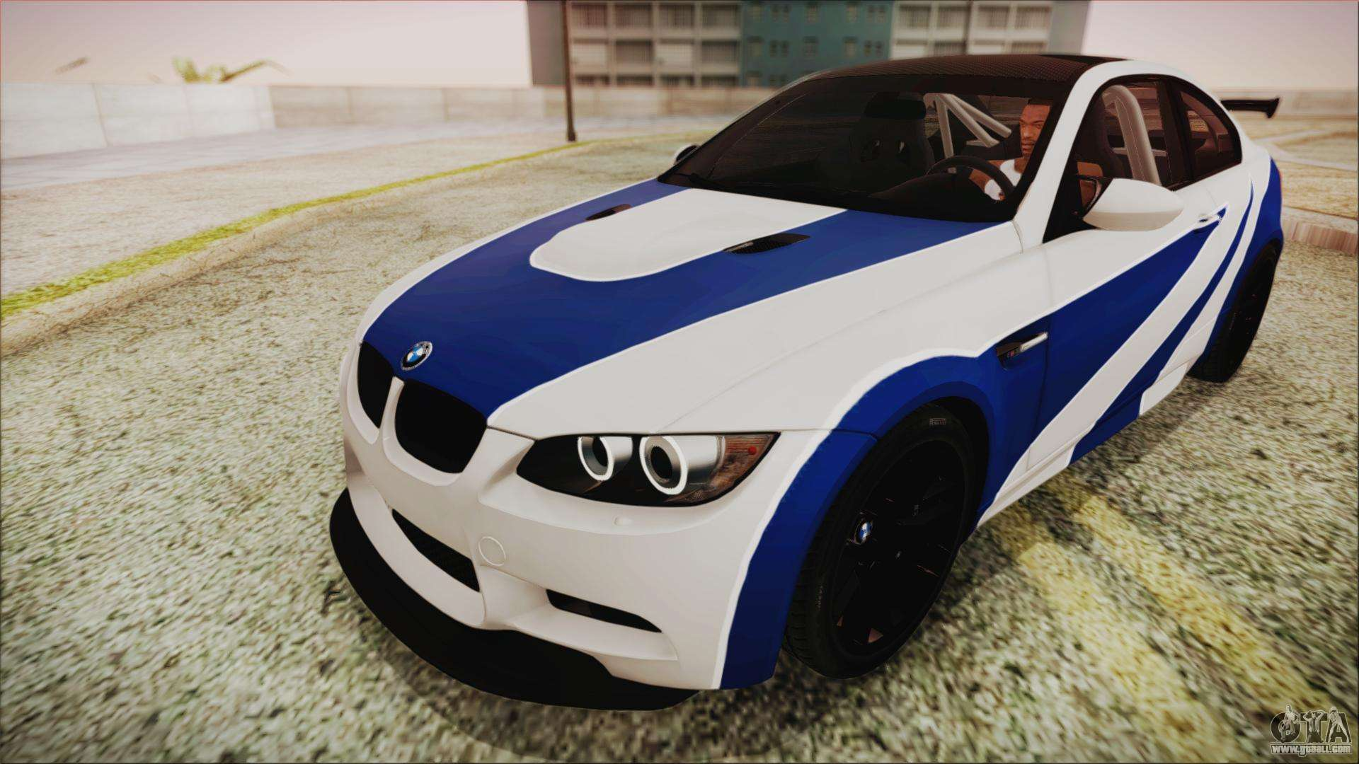 BMW M3 GTS 2011 IVF for GTA San Andreas