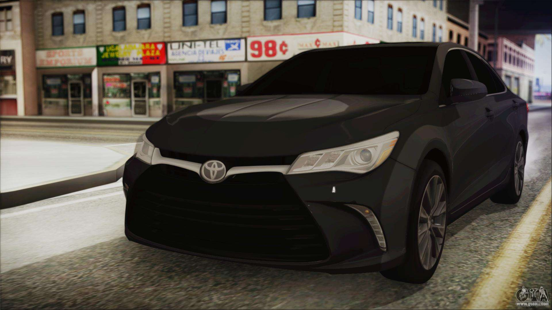 toyota camry for gta san andreas. Black Bedroom Furniture Sets. Home Design Ideas