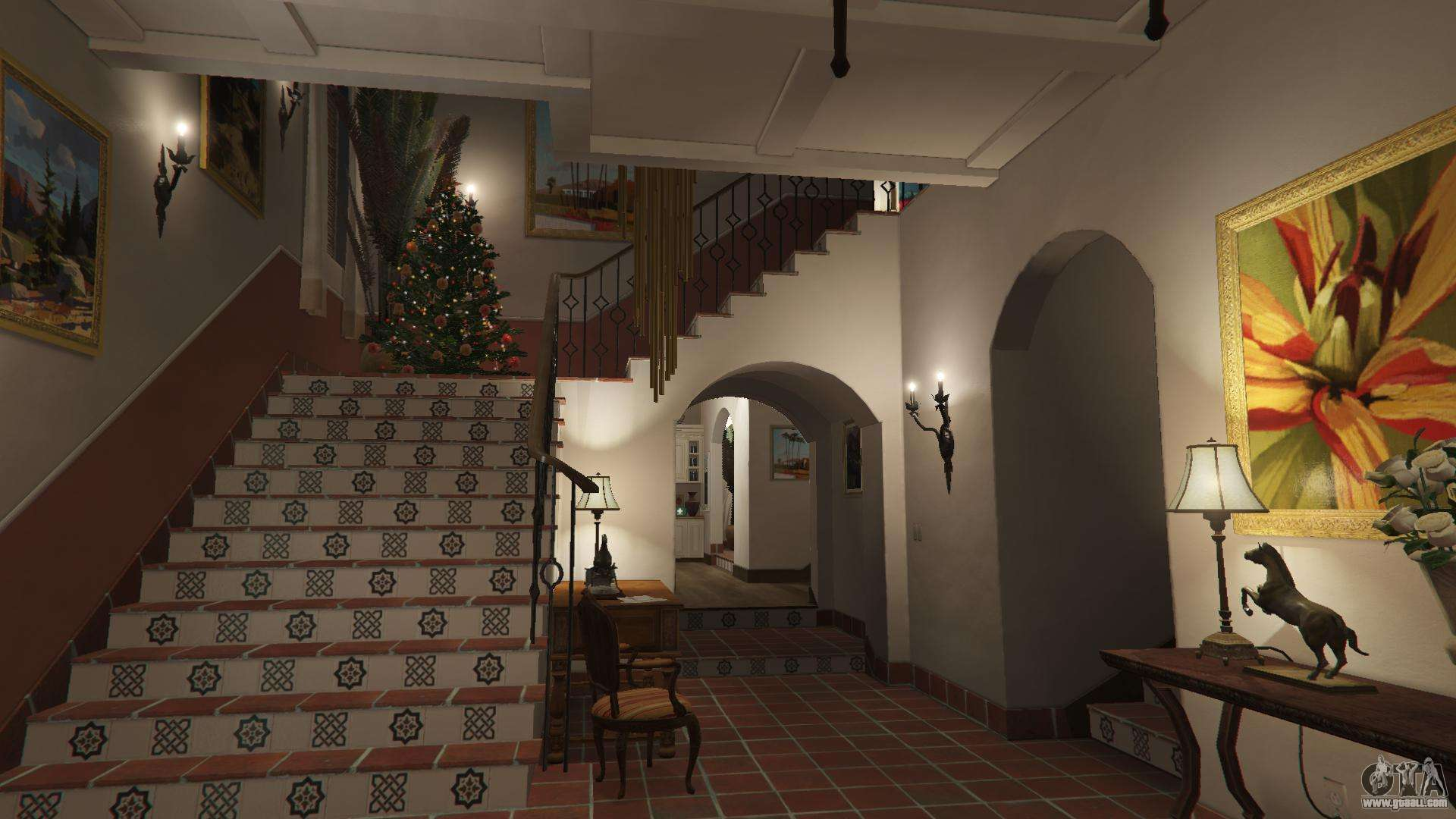 Christmas Decorations For Michael S House For Gta 5