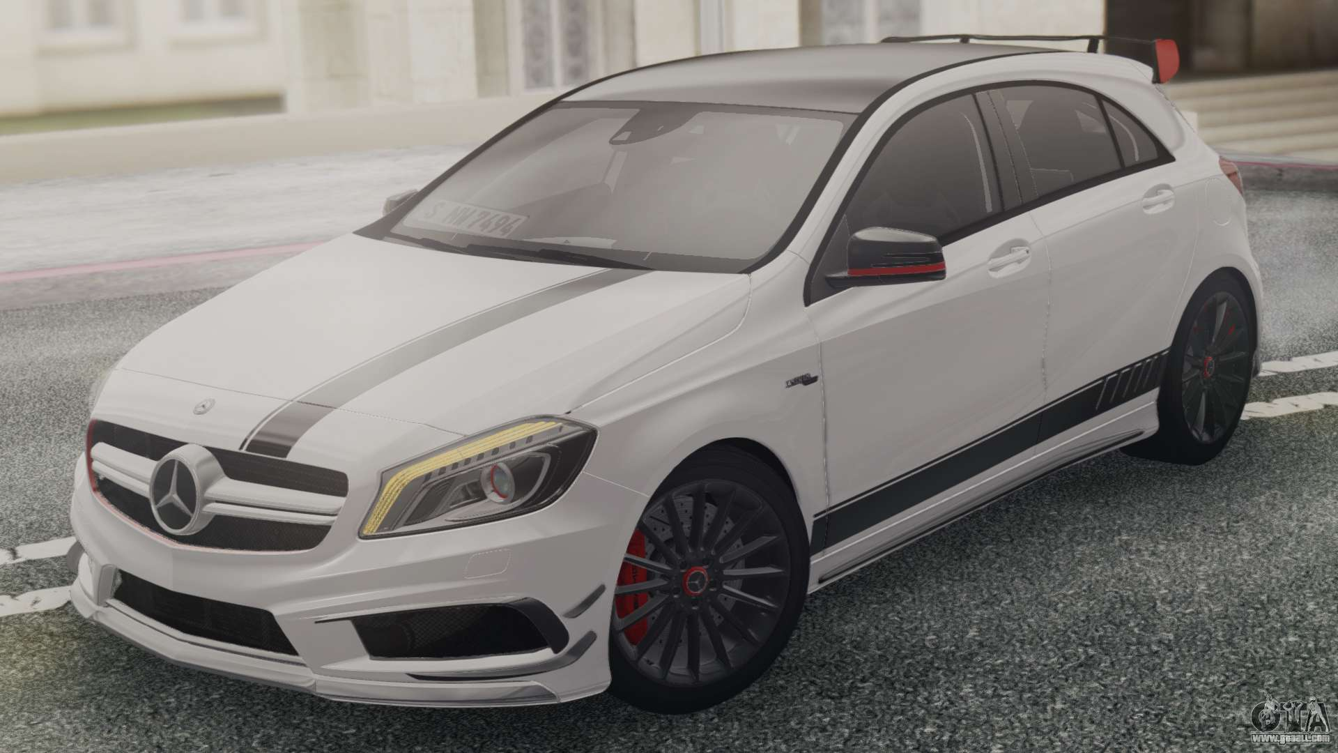 mercedes benz a45 amg edition 1 for gta san andreas. Black Bedroom Furniture Sets. Home Design Ideas