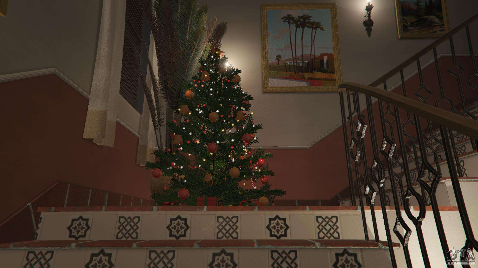 gta 5 christmas decorations for michaels house fourth screenshot - Michaels Christmas Decorations 2015
