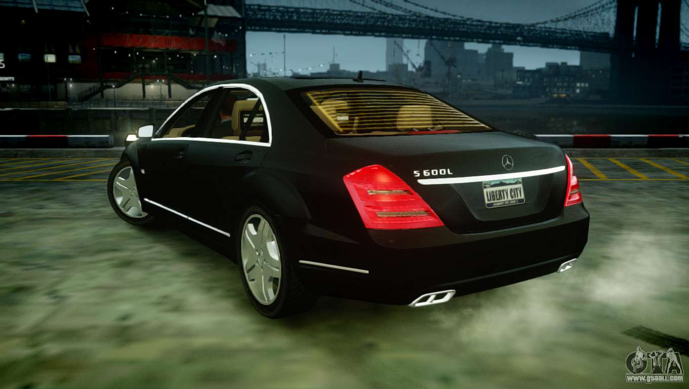 mercedes benz s600 2011 for gta 4