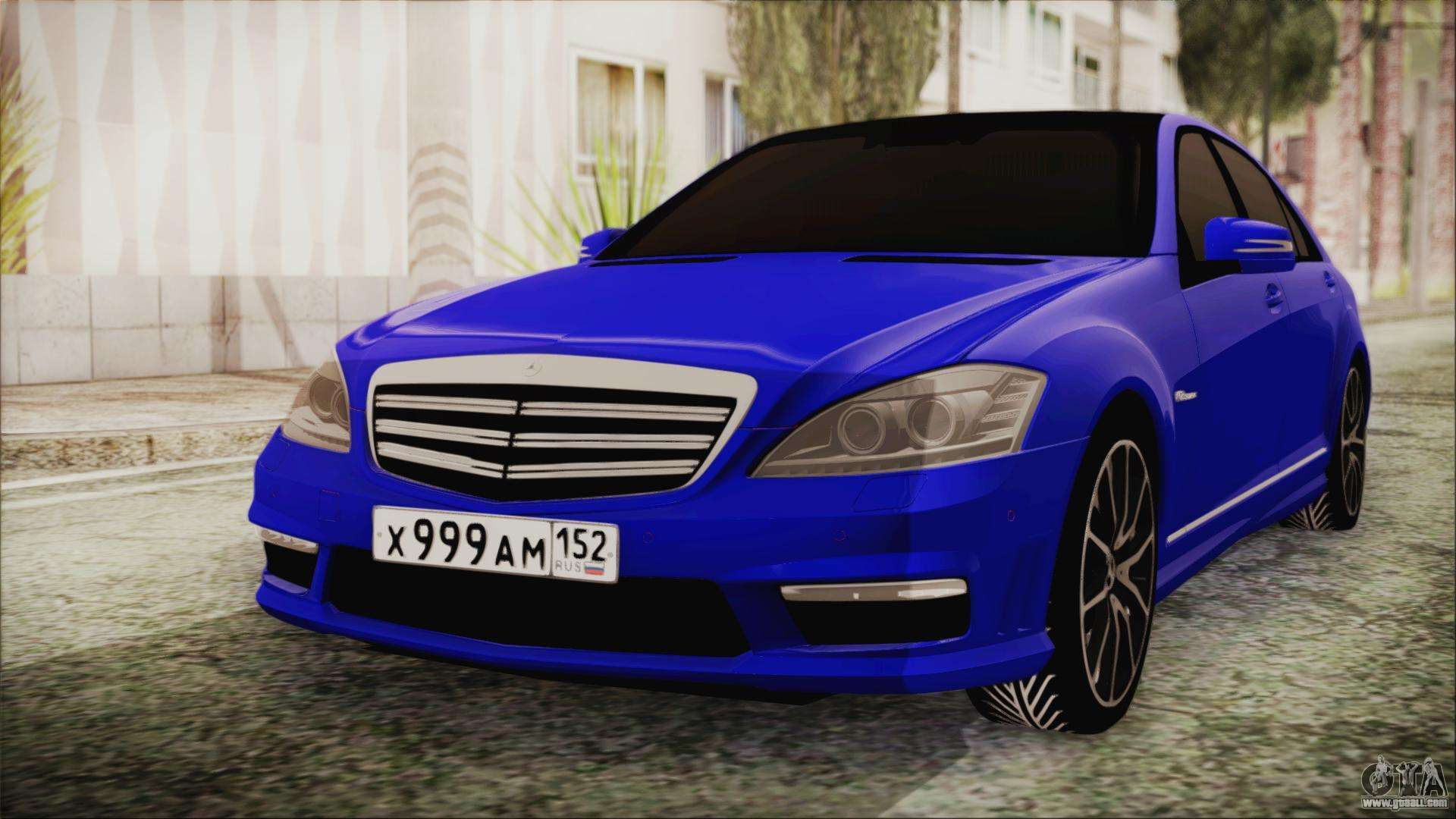 Mercedes benz s65 amg for gta san andreas for Mercedes benz amg s65