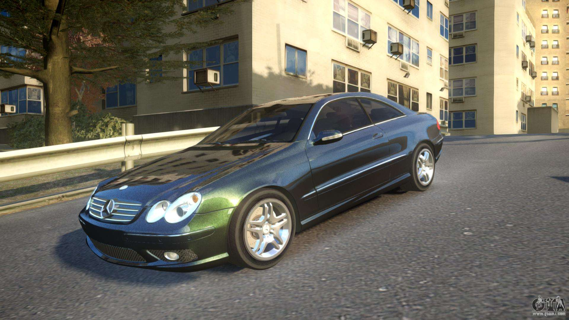 mercedes clk55 amg coupe 2003 for gta 4. Black Bedroom Furniture Sets. Home Design Ideas
